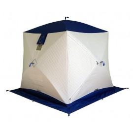 Палатка для зимней рыбалки куб Пингвин Призма Термолайт 3 слойная