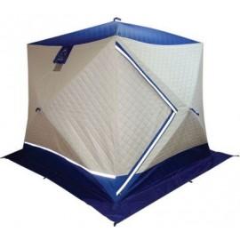 Палатка для зимней рыбалки куб Пингвин Призма Премиум Термолайт 3 слойная