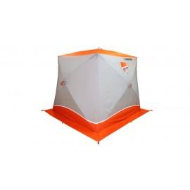 Палатка для зимней рыбалки куб Пингвин Призма Brand 2-х слойная