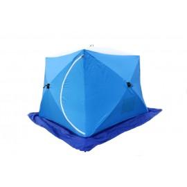 Картинка Палатка для зимней рыбалки Стэк Куб-3 трехслойная LONG