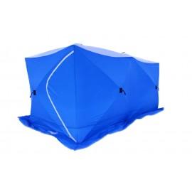 Картинка Палатка для зимней рыбалки Стэк Куб-3 трехслойная DOUBLE