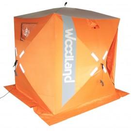 Палатка для зимней рыбалки куб WOODLAND Ice Fish 4
