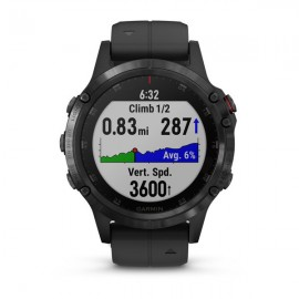 Картинка Часы Garmin FENIX 5 PLUS Sapphire черный