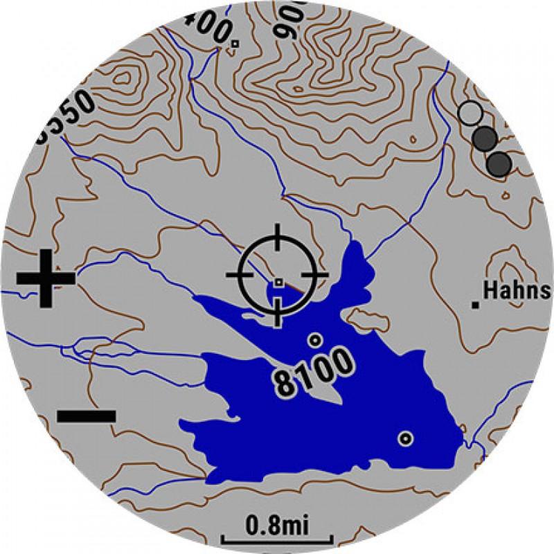 картинка Часы Garmin FENIX 5 PLUS Sapphire титановый с оранжевым ремешком