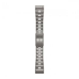Картинка Ремешок для часов Garmin QuickFit 26 мм титан (серебристый)
