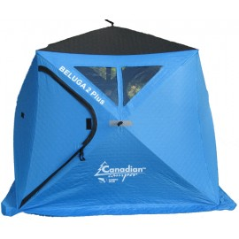Палатка для зимней рыбалки куб Canadian Camper Beluga 2 Plus