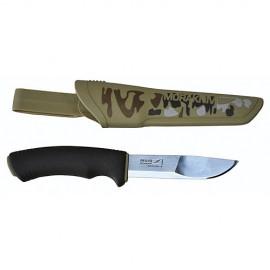 Нож универсальный в пластиковых ножнах MoraKNIV BUSHCRAFT DESERT CAMO