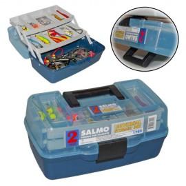 Картинка Ящик рыболовный пластиковый Salmo 2 полки маленький