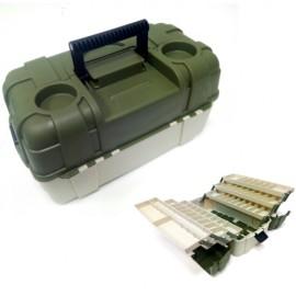 Картинка Ящик рыболовный пластиковый Salmo 6 полок