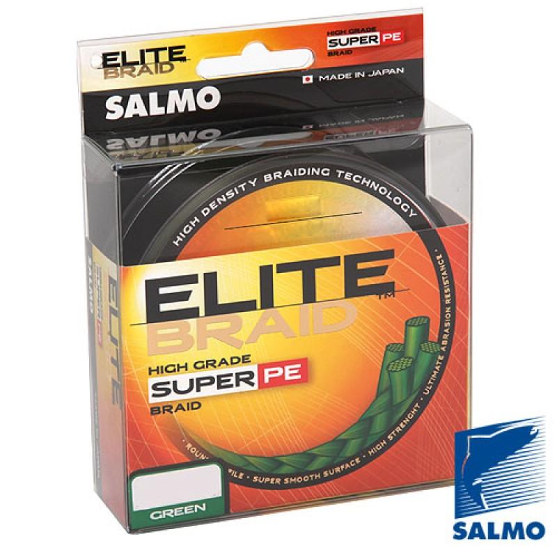 картинка Леска плетёная Salmo ELITE BRAID Green 91м