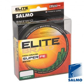 Леска плетёная Salmo ELITE BRAID Green 1000м