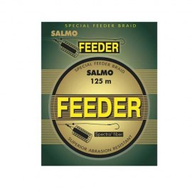 Леска плетёная Salmo FEEDER 125м
