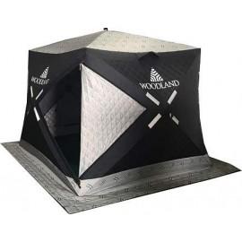 Картинка Палатка для зимней рыбалки куб WOODLAND ULTRA COMFORT трехслойная