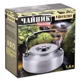Картинка Чайник туристический BOYSCOUT 1,6л.