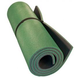 Картинка Коврик туристический двухслойный зеленый антрацит 1800х600х12мм