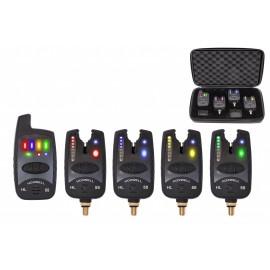 Картинка Набор электронных сигнализаторов поклевки с пейджером Hoxwell HL 58 (4+1)