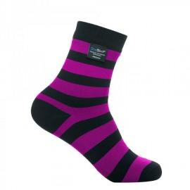 Картинка Водонепроницаемые носки DexShell Ultralite Bamboo Sock Black-Pink