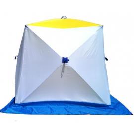 Картинка Палатка для зимней рыбалки Стэк Куб-1 двухслойная