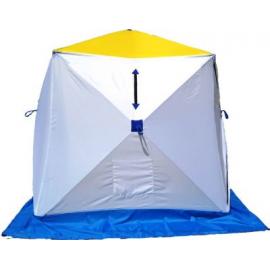 Картинка Палатка для зимней рыбалки Стэк Куб-1 трехслойная