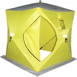 Картинка Палатка для зимней рыбалки куб Сахалин 4