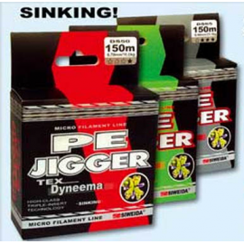 Леска плетеная Siweida Pe Jigger  0,18 100м (9кг, зеленая)