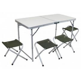 Картинка Набор мебели TREK PLANET Event Set 120 стол+4 стула