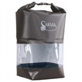 Картинка Баул водонепроницаемый SARMA с прозрачной вставкой 10л С007-1