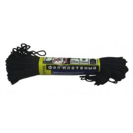 Фал 2,0мм (25 м) черный (фпп2-25ч)