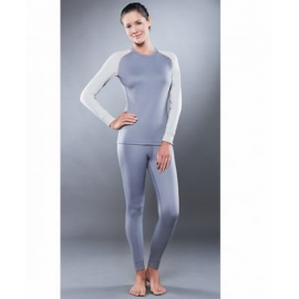 Картинка Комплект женского термобелья Guahoo: рубашка + лосины (561 S-GY / 561 P-GY)