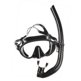Картинка Набор маска,трубка WAVE MS-1328S66 силикон,черный