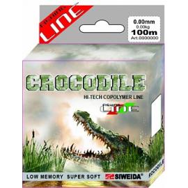 Картинка Леска SWD Crocodile 100м 0,2 (4,10кг) ваккум/уп прозрачная