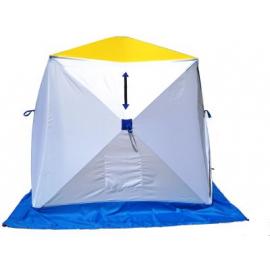 Картинка Палатка для зимней рыбалки Стэк Куб-3 трехслойная