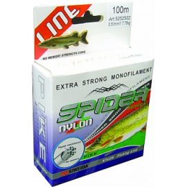 Леска SWD Spider Pike 100м 0,2 (4,85кг) зеленая