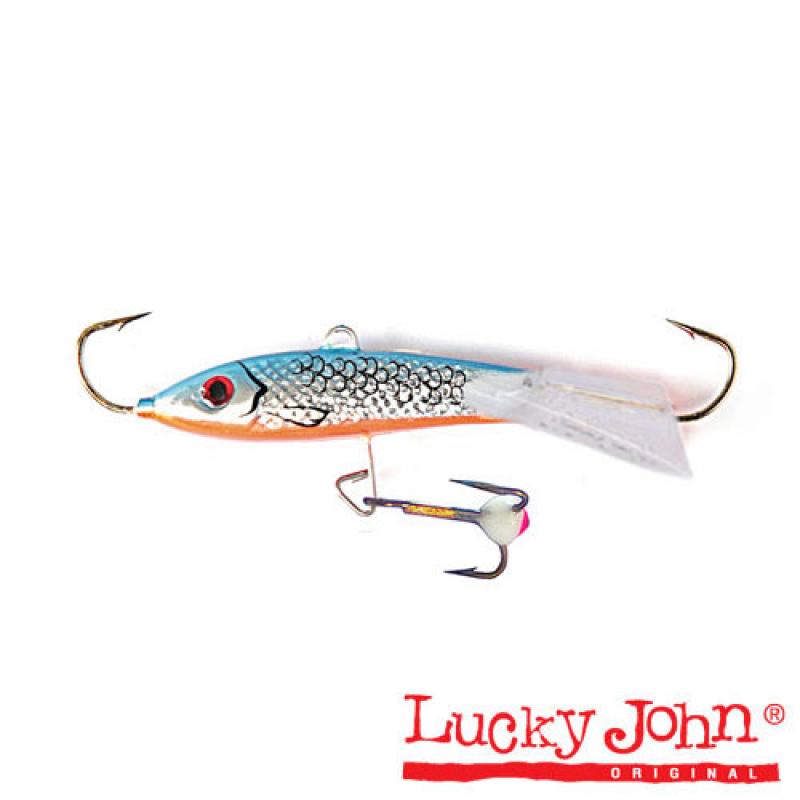 картинка Балансир Lucky John Classic 8 + тр. 80мм/45H блистер