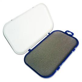 Картинка Коробка для приманок зимняя пластмассовая Salmo с мягким вкладышем