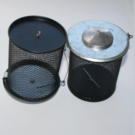Картинка Кормушка зимняя сетка метал. 510гр