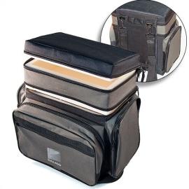 Ящик-сумка-рюкзак рыболовный зимний пенопластовый 2-х ярусный B-2Lux