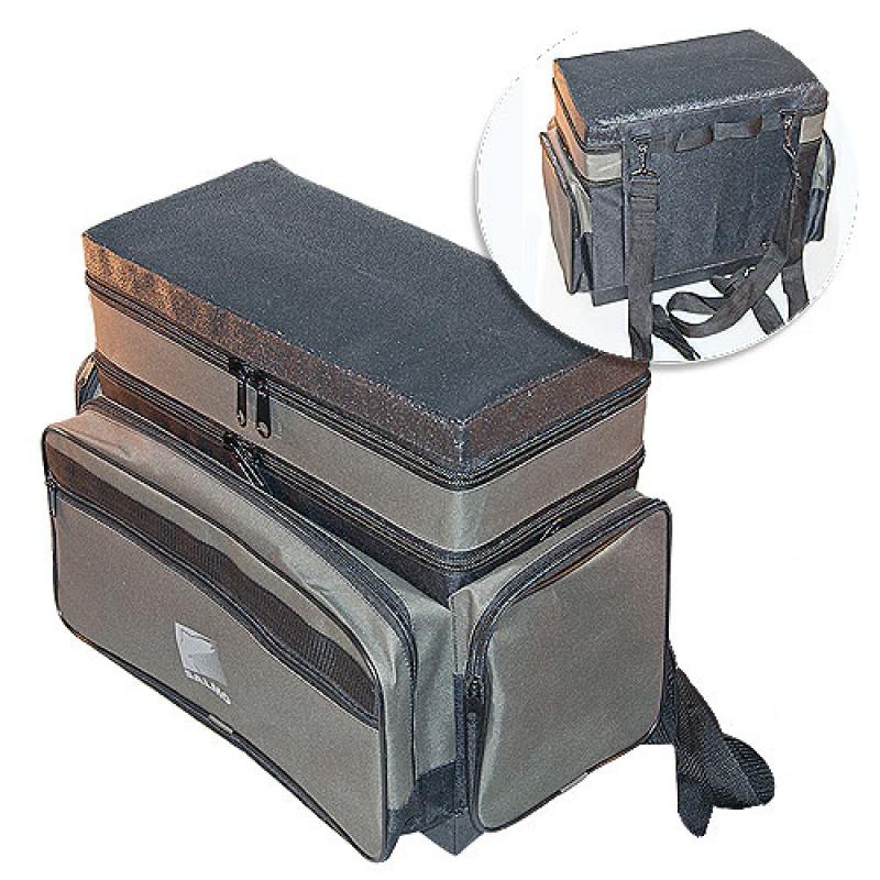 картинка Ящик-рюкзак рыболовный зимний пенопластовый 2-х ярусный H-2Lux