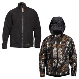 Картинка Куртка Norfin Hunting Thunder Staidness/black двухсторонняя