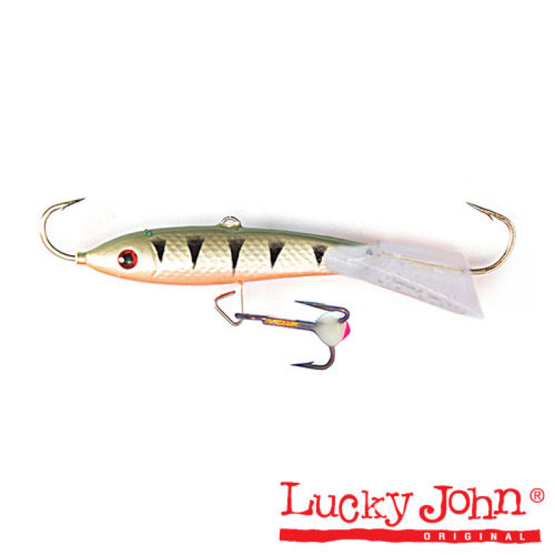 картинка Балансир Lucky John Classic 8 + тр. 80мм/41 блистер