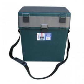 Картинка Ящик-М зимний зеленый Helios