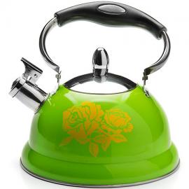Картинка Чайник мет Mayer&Boch 2,6л со свистком зеленый