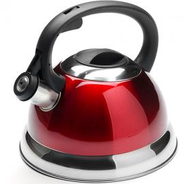 Картинка Чайник мет Mayer&Boch 2,3л свистком красный
