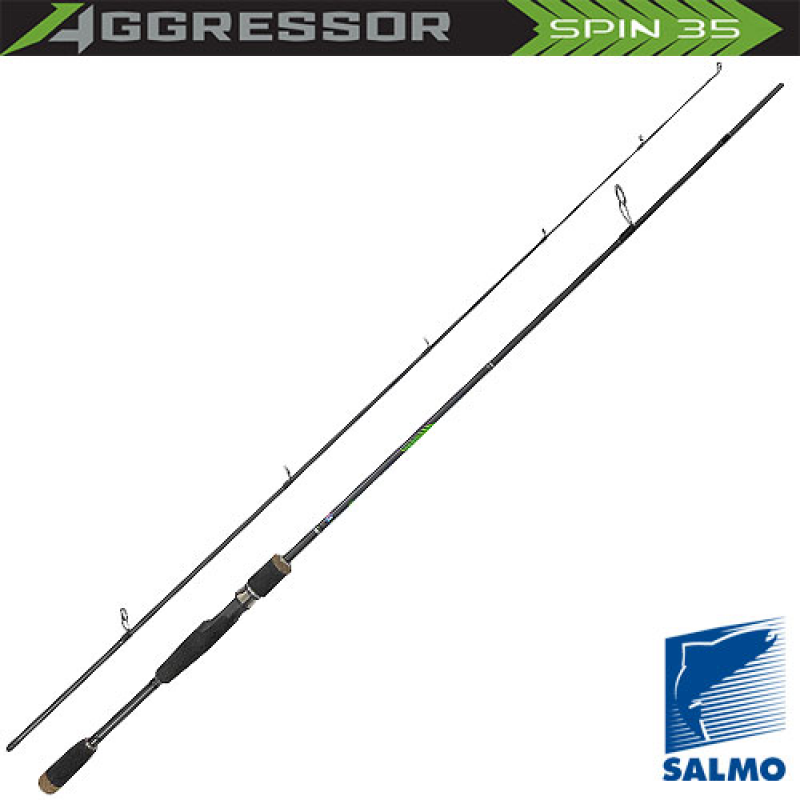 картинка Спиннинг Salmo Aggressor SPIN 35 2.10