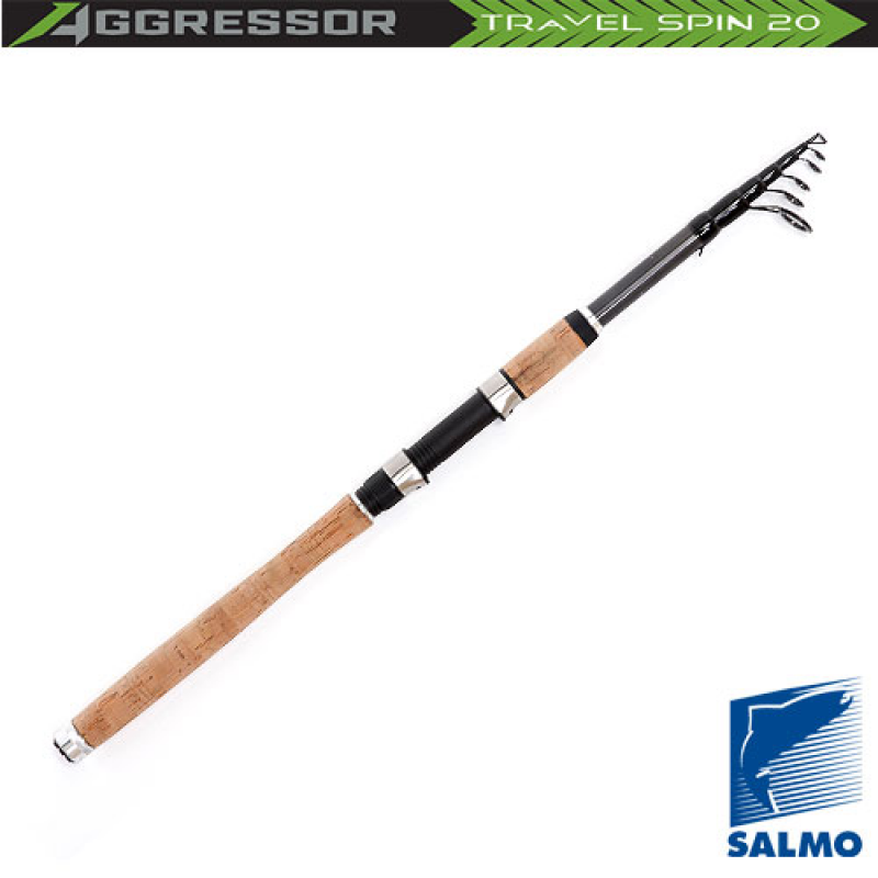 картинка Спиннинг Salmo Aggressor TRAVEL SPIN 20 2.70