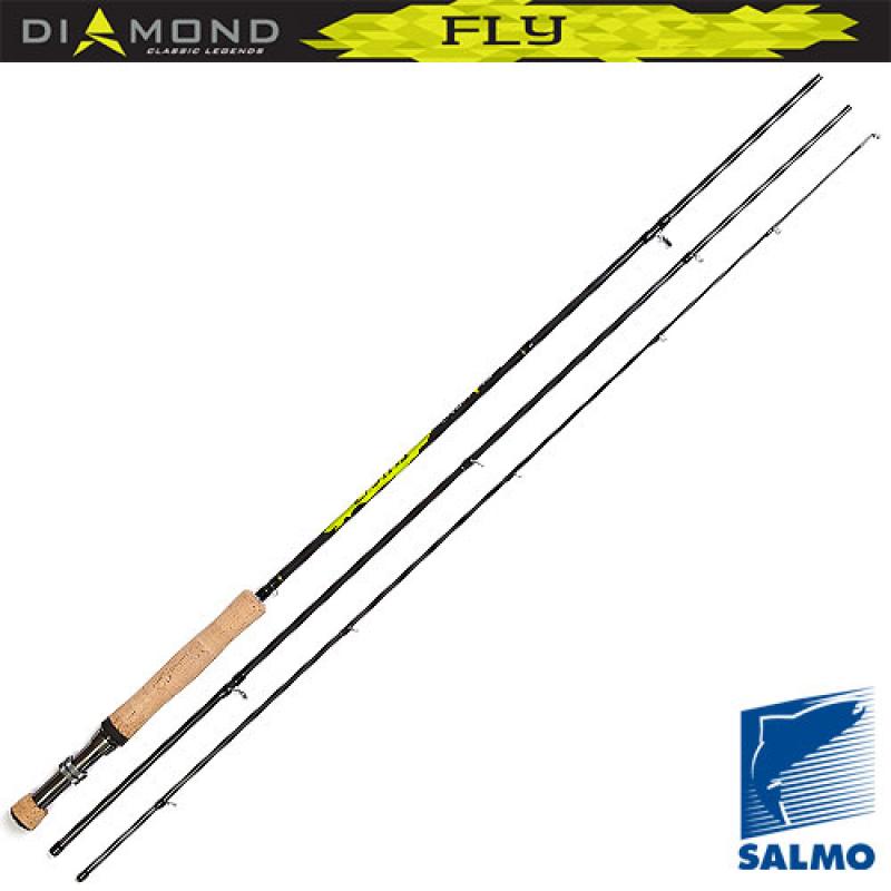 картинка Удилище нахлыстовое Salmo Diamond FLY кл.4/5 2.55