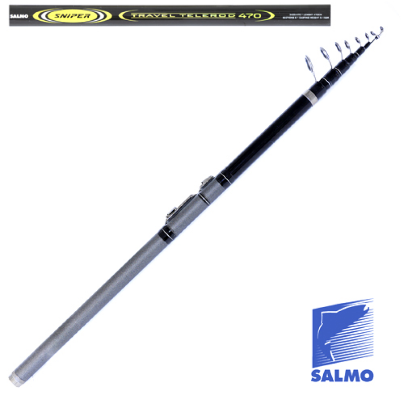картинка Удилище поплавочное с кольцами Salmo Sniper TRAVEL TELEROD 4.70