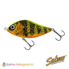 Воблер плавающий джеркбейт Salmo SLIDER F 06/GFP