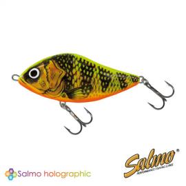 Картинка Воблер плавающий джеркбейт Salmo SLIDER F 10/GFP