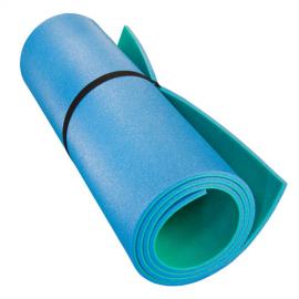 Картинка Коврик туристический двухслойный светло-зеленый голубой 1800*600х8мм